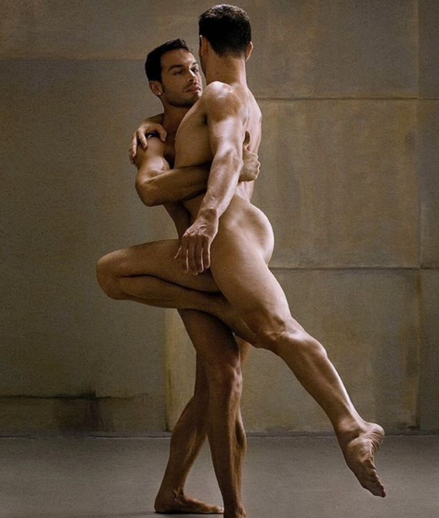 Italy ballet nude men think