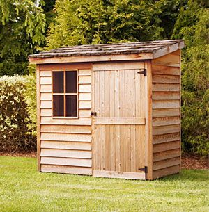 Small Wood Garden Shed