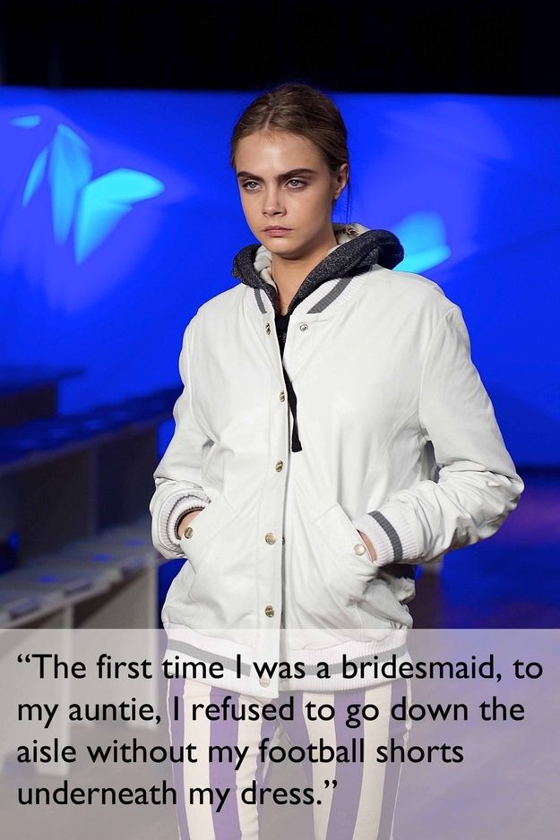 She's always been a tomboy. | 21 Things You Didn't Know About Cara Delevingne