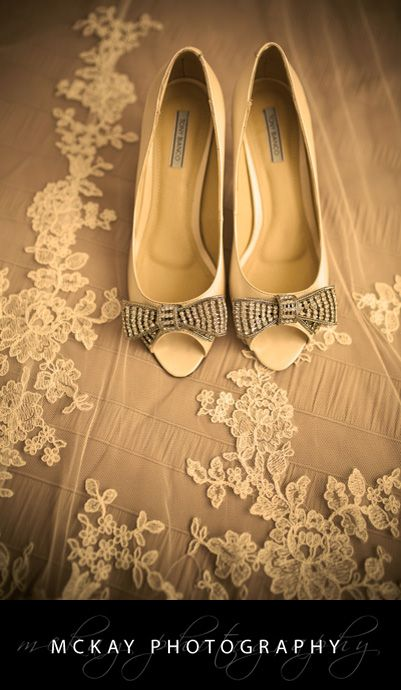 Wedding Shoes - by McKay Photography