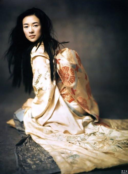 Ziyi Zhang as Sayuri in `Memoirs Of A Geisha', Photo by Paolo Roversi. °