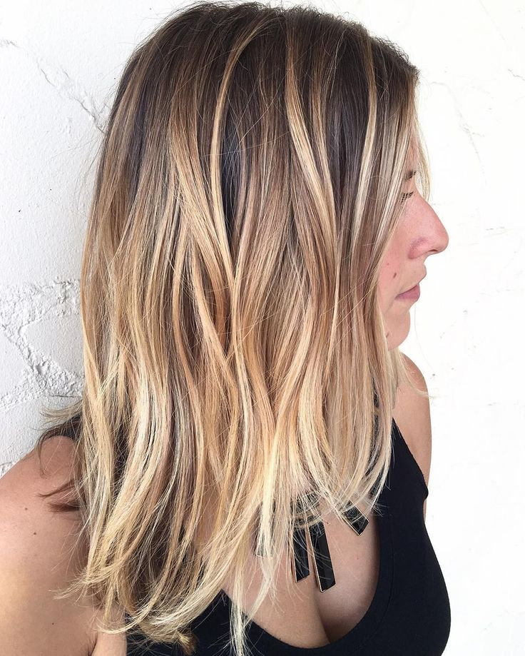 117 best hair for brown eyed girls images on pinterest best hair color best hair colour and - Balayage blond caramel ...