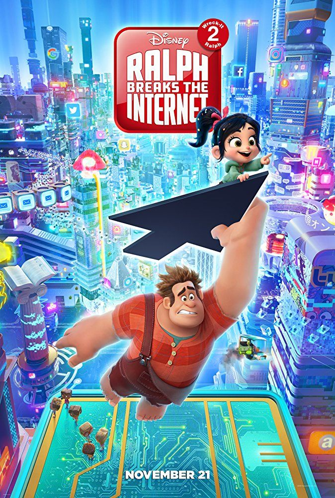 John C Reilly And Sarah Silverman In Ralph Breaks The Internet Wreck It Peliculas Infantiles De Disney Ver Películas Gratis Online Películas Completas Gratis