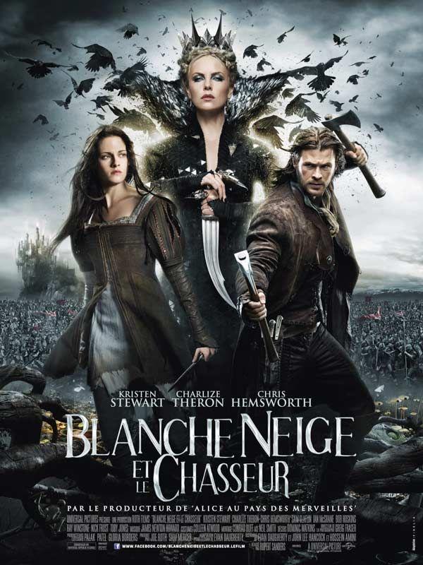 Blanche Neige et le chasseur avec Kristen Stewart Charlize Theron et Chris Hemsworth