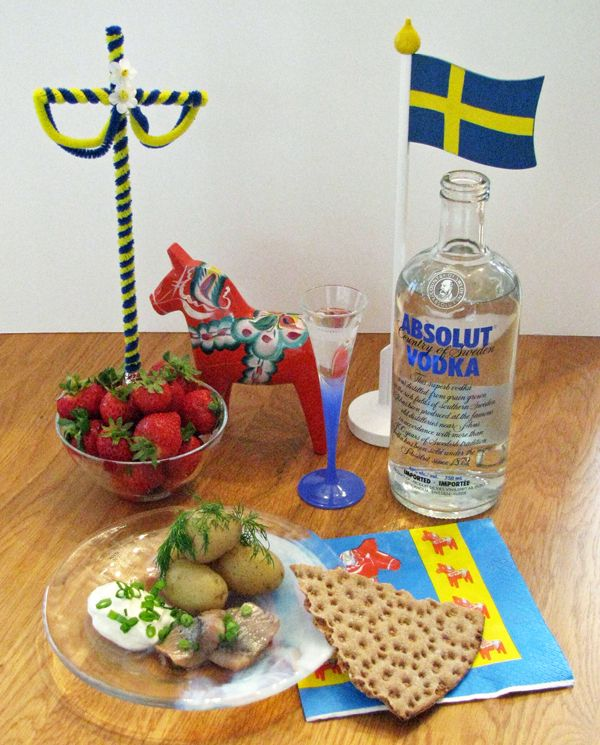 #travel #midsummer #food   Swedish Midsummer