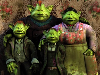 I love these guys!  Google Image Result for http://www.cbc.ca/programguide/images/program/f/fungus_the_bogeyman.jpg
