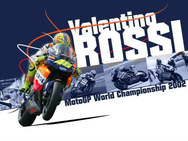 Valentino Rossi - MotoGP 2002 by EvanDeCiren.deviantart.com on @DeviantArt