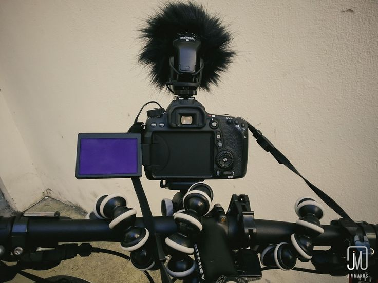 First-person view from shooting with a dSLR camera attached on a bike's stem. #filmmaking