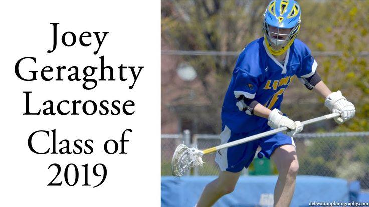 Joey Geraghty Lacrosse Defender LSM   Class of 2019   Spring 2017 Highli...