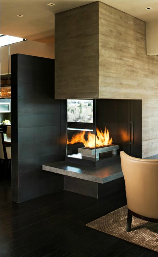 Fireplace Design fancy fireplace : 250 best Fancy fireplaces, pits & pizza ovens images on Pinterest