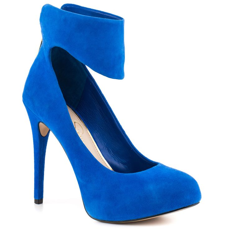 Nwing - American Blue Sue Jessica Simpson $99.99 the heel just a bit shorter