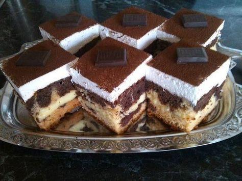 Márványos lepény vanília pudinggal. Egyszerű süti, teljesen kezdőknek is - Egyszerű Gyors Receptek