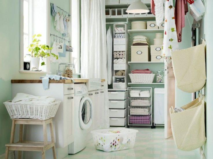 洗濯機まわりのインテリアを工夫して「おしゃれランドリールーム」を作 ... ilovetobeorganized.com