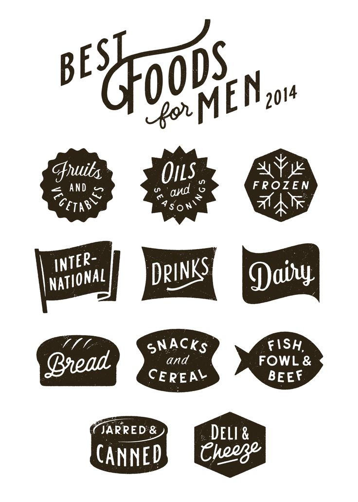 Best Foods icons by Simon Walker