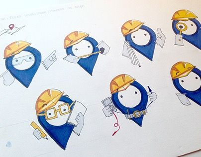 """Check out new work on my @Behance portfolio: """"Diseño personaje SIG"""" http://be.net/gallery/28838331/Diseno-personaje-SIG"""