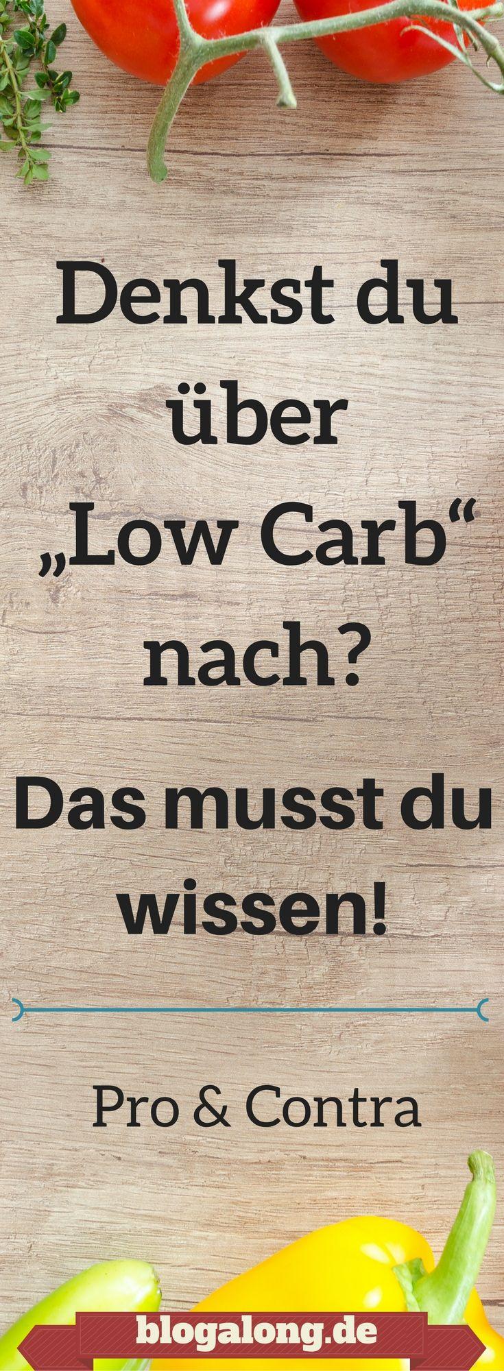 "Denkst du über ""Low Carb"" nach? Das musst du wissen! #lowcarb #diät #ernährung #abnehmen"