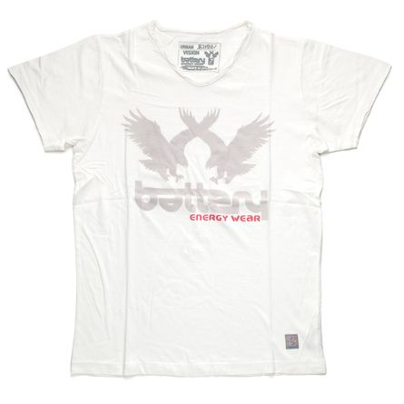 Κοντομάνικη μπλούζα με V λαιμόκοψη 100% βαμβακερή . Η μπλούζα είναι διαθέσιμη σε δύο χρώματα off-white &  ανθρακί με ανθεκτική πετροπλυμμένη στάμπα με δυο  αετούς. Δημιουργείστε το τέλειο outfit με ένα τζιν και τα αγαπημένα σας sneakers #MIllenniumshop