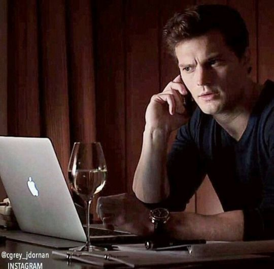 Drunk calling Christian Grey