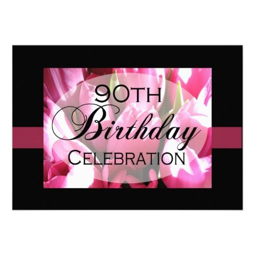 17+ best images about 90Th Birthday Invitation Template on