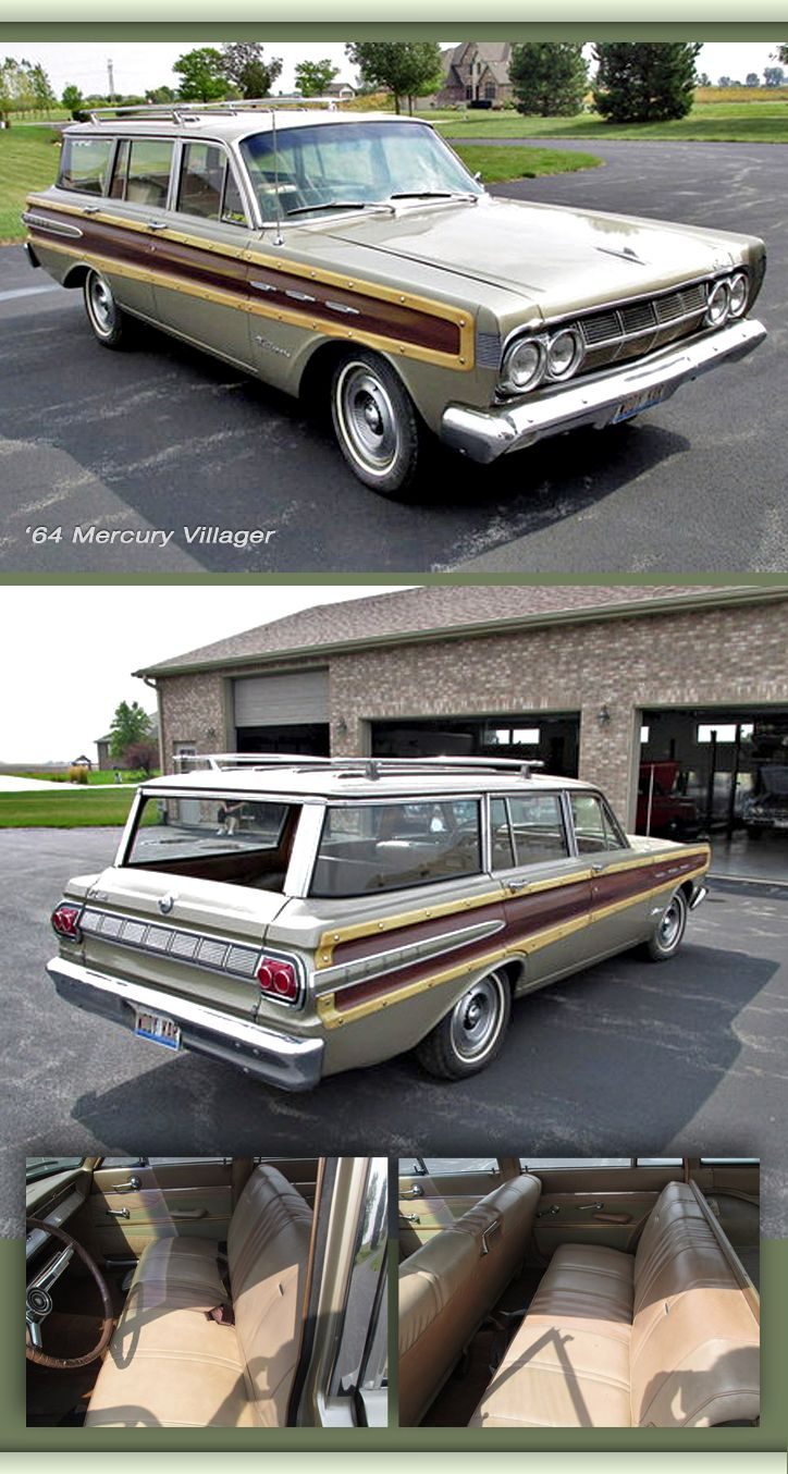 1956 ford customline wagon old car hunt - 64 Mercury Villager Might Be The Last One On The Planet