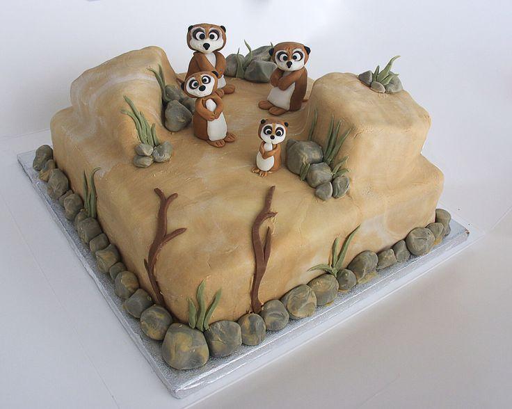 Meerkat Cake Figures