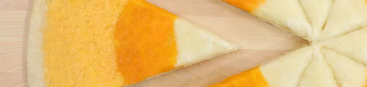 Don't be tricked by this savory treat! Rosanna Pansino and special guest Papa Pizza make a delicious three cheese pizza decorated to look like a candy corn!