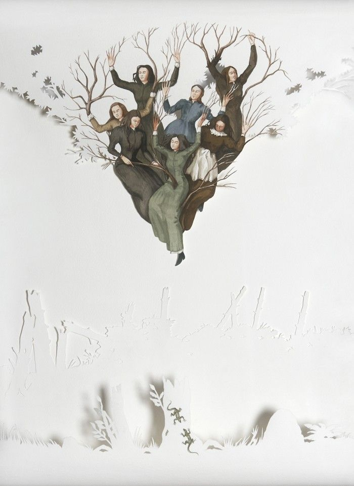 Vanni Cuoghi-Florilegio, 2011  Acquerello su carta, 79 x 59 cm