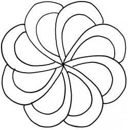 Large Swirl Stencils |