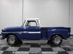 AutoTrader Classics - 1966 Chevrolet C10 Truck Blue 8 Cylinder Manual Other | Classic Trucks | Lithia Springs, GA