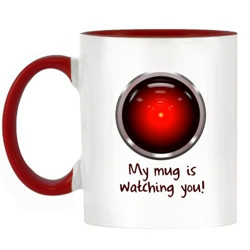 Funny My Mug is Watching You Design Two-Tone Mug with Red... https://www.amazon.co.uk/dp/B00KEAOKAM/ref=cm_sw_r_pi_dp_x_uyTsyb6YX42SV