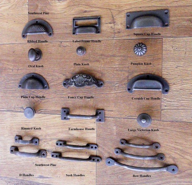 Cast Iron Cup Handle Kitchen Cupboard Door Handle K Antique Iron Finish