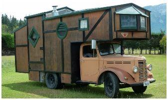House Truck, accommodation, Wacky Stays, Kaikoura