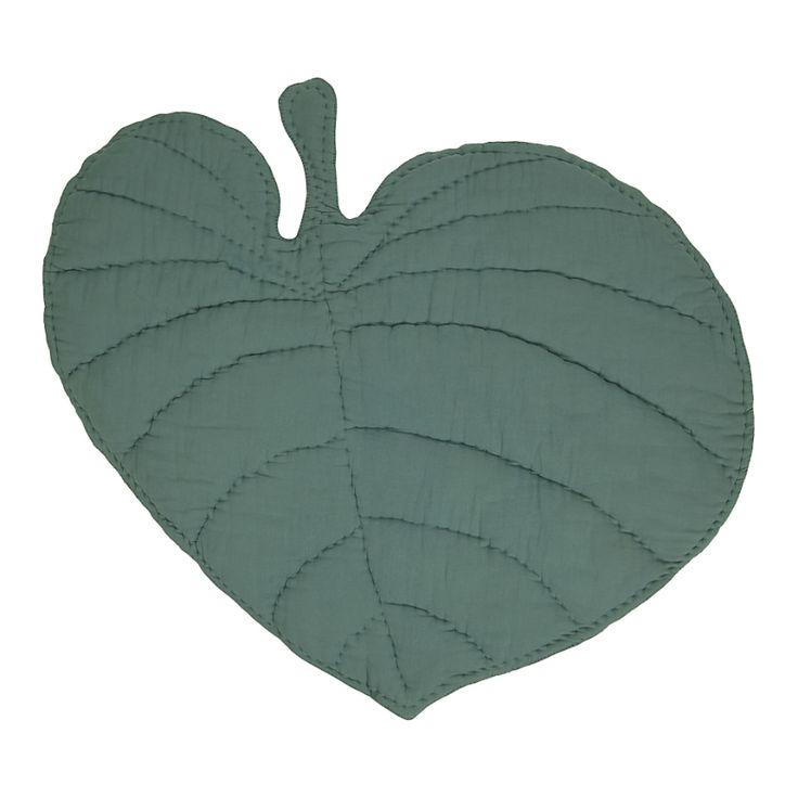 Nofred Matta Leaf Blanket Grön