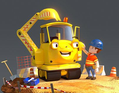 """Check out new work on my @Behance portfolio: """"Excavator"""" http://on.be.net/1HqTK6q"""