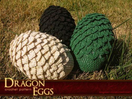Amigurumi Dragon Egg : Crochet Dragon Egg http://blog.bad-mushroom.com/post ...