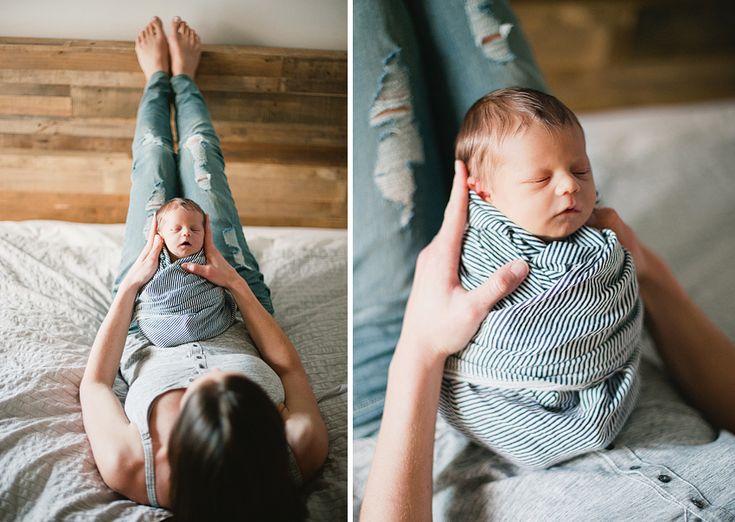 all swaddled #motherhood #newborn #portrait