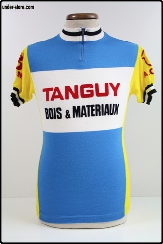 MAILLOT CYCLISME EQUIPE TANGUY VINTAGE CYCLE rfFBB55