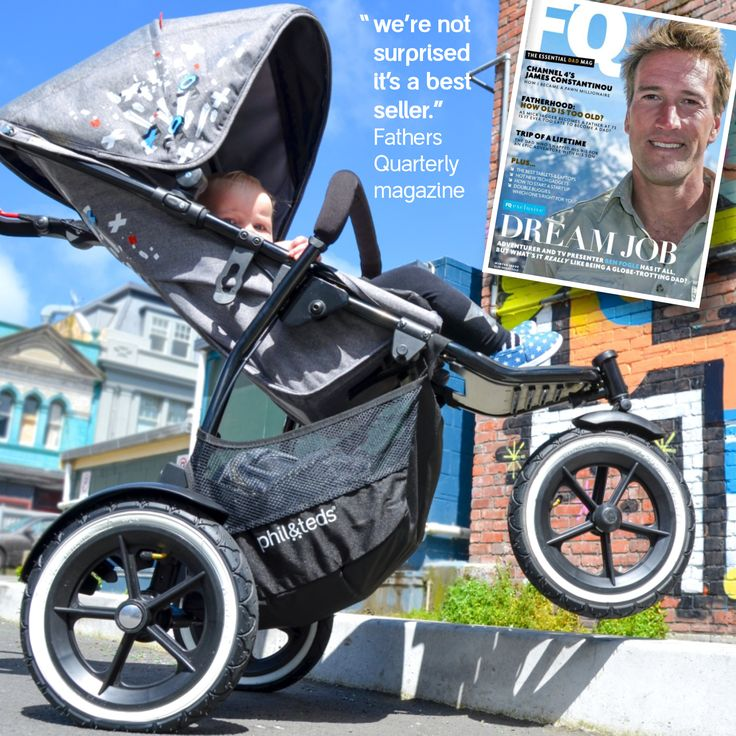 phil&teds sport stroller has won the Top Gear 2017 award from FQ for dads magazine UK!