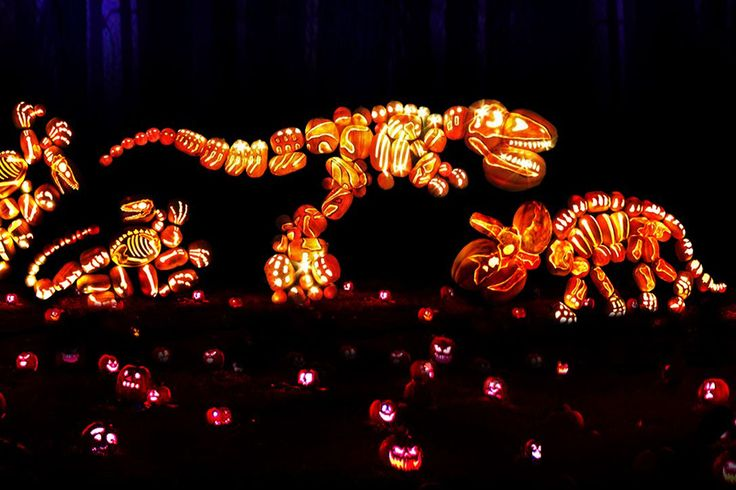 Kids spend the whole year looking forward to Halloween. So Tucker Bradford, the lead pumpkin carver at Rise event-planning company, spends the whole year working on it. The Westchester-based 26-yea…