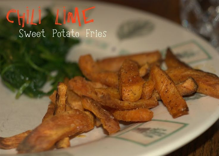 Chili Lime Sweet Potato Fries | Fries | Pinterest