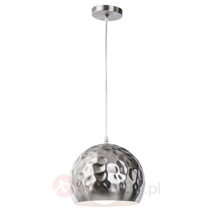 """Lampa wisząca w kształcie kuli Tiny, """"poobijana"""" 7007607"""