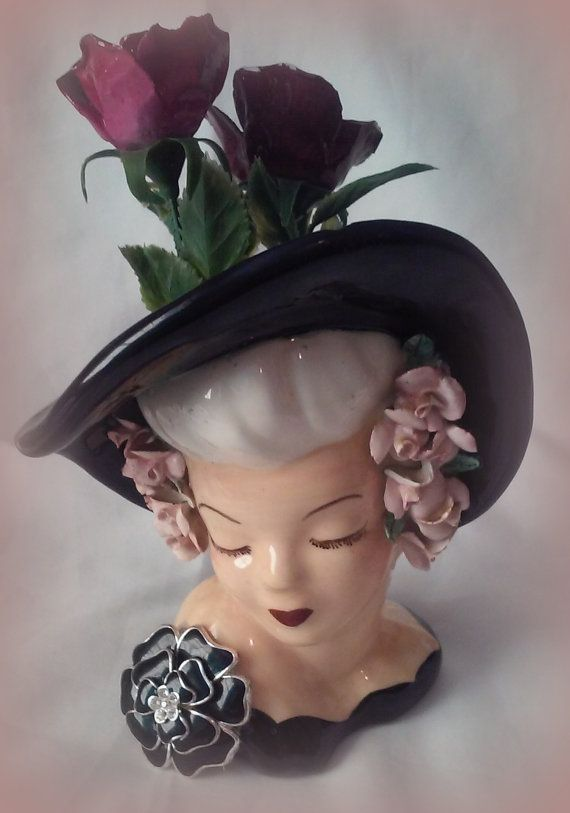 17 Best Images About A Amp V Head Vases Lady On Pinterest Victorian Ladies Pottery And Public