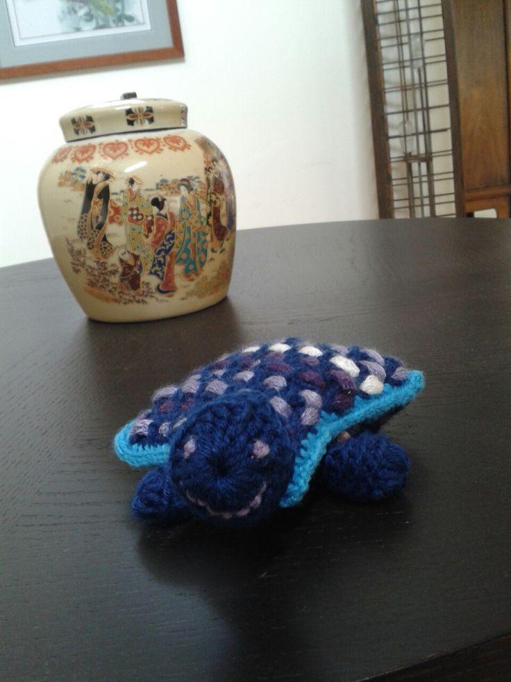 Wanna be turtle (crochet)