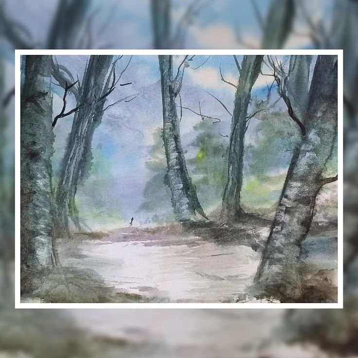 The average price of natural forestland for sale in alabama is $469,140. Mromeo Arts A Walk Through The Forest Would Love To Be Outside Today Alas 9x12 For Sale Watercolor Landscape Watercolor Landscape Paintings Landscape
