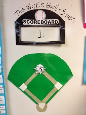 Classroom Management-Class-wide baseball game!
