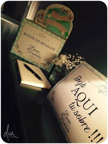 #Boda Laura & Damián Buzón de regalos