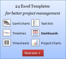 Project Management Templates - for Excel