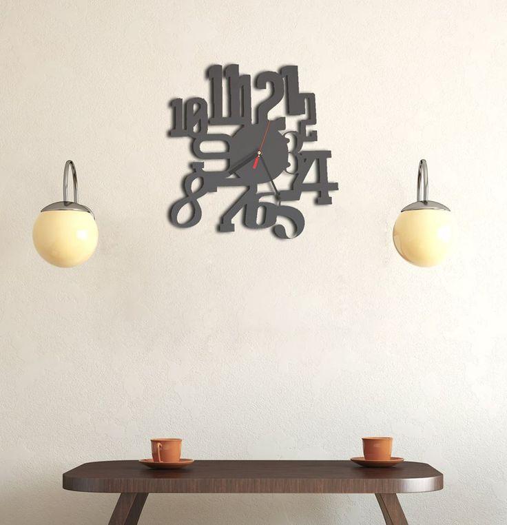 Abbiamo abbinato alcuni oggetti di metallo in ambienti arredati con mobili di legno, ci sta a pennello la versione Antracite dell'orologio WE LOVE VINTAGE, non credete? #wood #home #decor #vintage #clock #lamidea  Oggi è in offertissima:  http://bit.ly/1qN93nf