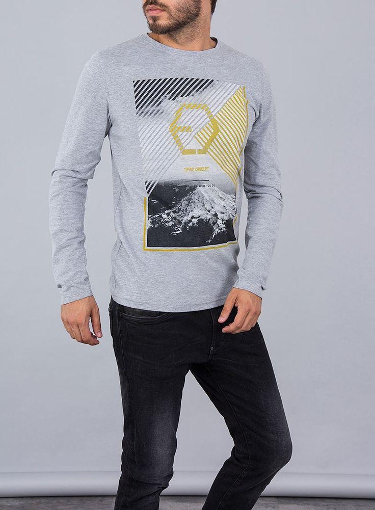 Camisetas de manga larga de Tiffosi Denim para hombre por 14,99€. ¡Ven a por la tuya! #newcollection #fashionmen #lifestyle #modahombre