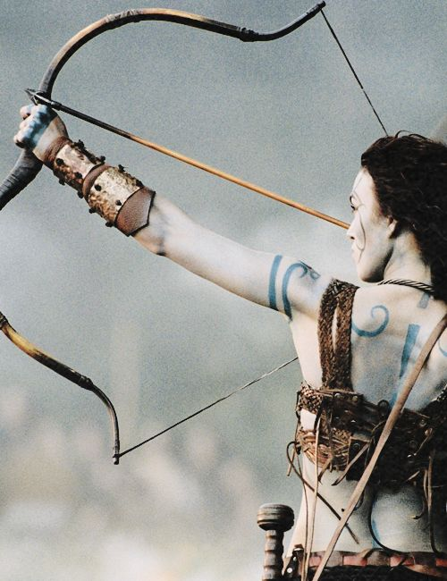 Guinevere - Keira Knightley in King Arthur (2004).
